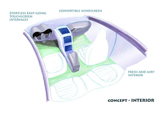 auris concept-interior